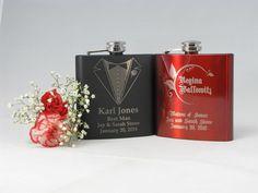 Birthday Xmas Wedding Stag ! Hip Flask Personalised Monogram /& Name WOW