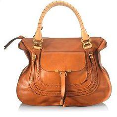 Chloe Marcie Large Satchel Handbag