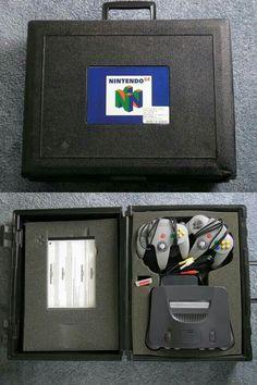 Blockbuster N64 rental case