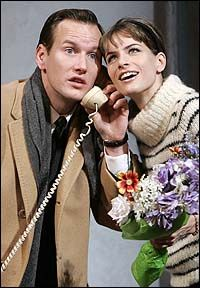 patrick wilson amanda peet in Barefoot in the Park Theatre Geek, Music Theater, Barefoot In The Park, Patrick Wilson, Playwright, Classical Music, American Actors, Newlyweds, Comedy