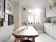 Loft apartment in Gothenburg | Photo by Jonas Berg for Swedish broker Stadshem | via styleandcreate.com