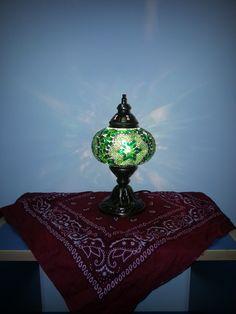 Green Mozaic Lamp