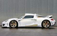 Gemballa Mirage GT Gold Edition | Porsche Carrera GT
