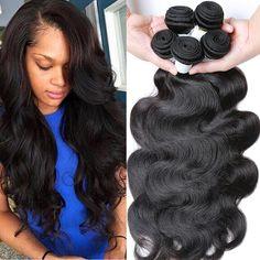 7A unprocessed virgin hair brazilian body wave brazilian virgin hair 4 bundles cheap virgin hair brazilian hair weave bundles