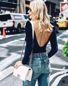 Find Out Where To Get The Top Blue Velvet Top, Velvet Tops, Blue Top Outfit, Backless Sweater, Revealing Dresses, Top Street Style, Velvet Sweater, Body Suit Outfits, Comfortable Outfits