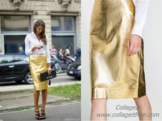 That's the Way, metal skirt, trends, street style