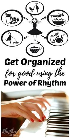 Get Organized for Good Using the Power of Rhythm - Rhythms of Play Marriage And Family, Marriage Advice, Sibling Relationships, Planner Organization, Organizing, Organization Station, Increase Productivity, Brain Waves, Organize Your Life
