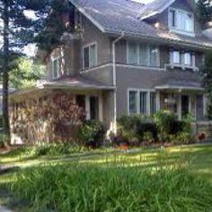 Edgar Rice Burroughs' house, in lovely Oak Park, Illinois.  We love Oak Park!