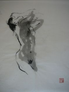 life drawing in chinese ink - Bing Images