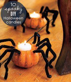 Amigas, que les parecen unas arañas de zapallo para adornar este Halloween