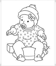 Kleurplaten Baby Born.22 Beste Afbeeldingen Van Kleurblok Poppen Baby Dolls Coloring