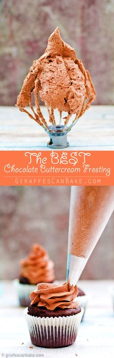 "This is, hands down, the BEST Chocolate Buttercream Frosting, ever! It's smooth, fluffy, creamy, and oh so chocolatey. My special ""secret ingredient"" really takes it to the next level. Once you've tried this recipe, you'll never turn back!"