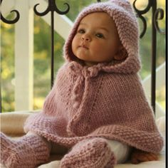 Baby Poncho...So Cute!!