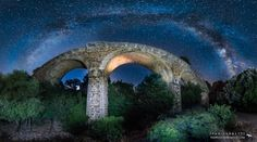 milky way bridge by Ivan Pedretti  on 500px
