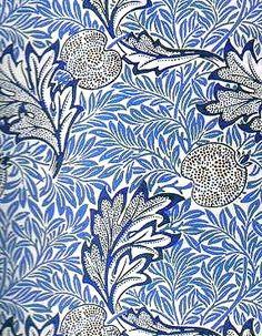 patternatic:        (via textile & surface design / William Morris wallpaper.)    i