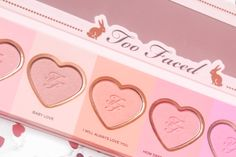 love flush by too faced (valentines edition) kisses xx, ♡princessmeghanm♡
