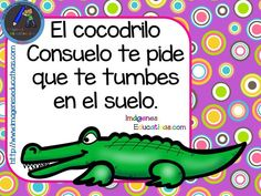 Ejercicios de psicomotricidad. Frases para ejercicios psicomotrices V ANIMALES - Imagenes Educativas Preschool Spanish, School Posters, Blended Learning, How To Speak Spanish, Teaching Materials, Exercise For Kids, Kids Songs, Interactive Notebooks, Kids Education