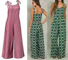 Casual Cotton Linen Long Loose Wide Leg Plus Size Jumpsuit Sewing Clothes, Diy Clothes, Dress Sewing, Vogue Sewing Patterns, Jumpsuit Pattern, Overall, Jumpsuits For Women, Boho Dress, Ideias Fashion