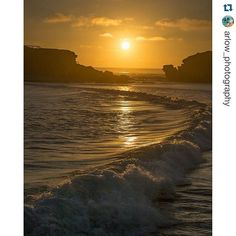#Repost @arlow_photography  Just going through some older shots. Now that we can post full frame shots I'm looking over a lot of older work. This is #warrnambool at #sunset on the #greatoceanroad #seegor #visitgreatoceanroad #beach #beautiful #sky #landscape #seascape #seascapes #victoria #australia #destinationwarrnambool #love3280 #warrnamboolbeach by destinationwarrnambool