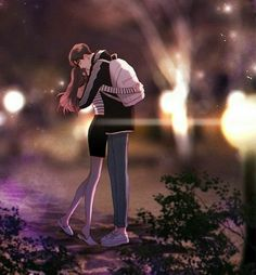 Huh that might be me one day one day Anime Couple Love, Cute Couple Pictures Cartoon, Cute Couple Drawings, Anime Couples Drawings, Cute Couple Art, Couple Cartoon, Anime Couples Manga, Romantic Anime Couples, Cute Anime Couples