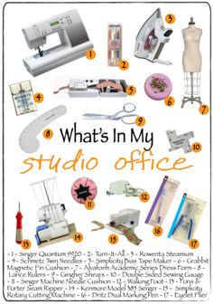 What's In My Studio Office by jRoxDesigns