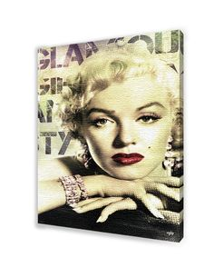 Who needs the Mona Lisa when you can have the beautiful and glamorous Marilyn Monroe's gaze on your wall?