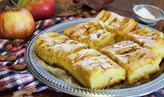 Jednostavan kolač s jabukama i bademima!
