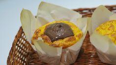 Muffin de Cenoura com Calda de Chocolate 3