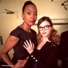 Aisha and Amber Tamblyn