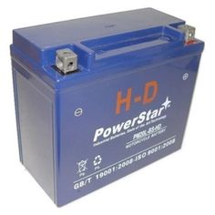 PowerStar PM20L-BS-HD-0134 1998-1997 Harley Fxdl Dyna Low Rider Battery, As Shown