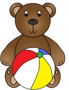 clip art little colored bears clip art bears and teddy bear rh pinterest com clip art bears free clip art bear images