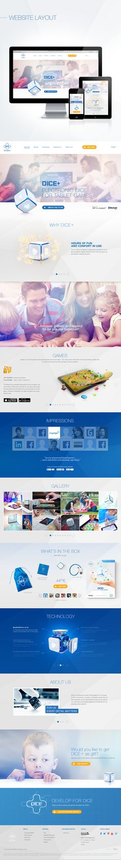 DICE+ by Fuse Collective , via Behance