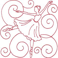 09 Ladies Dancing Hand Embroidery Patterns, Embroidery Applique, Cross Stitch Patterns, Quilt Patterns, Machine Embroidery, Embroidery Designs, Simple Embroidery, Christmas Applique, Christmas Sewing