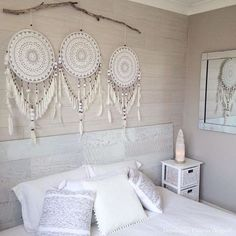 Large macrame wall hanging- home decor- wedding or boho decor- macrame headboard .Large Macrame Wall Hanging- Home Decor- Wedding or Boho Decor- Macrame Headboard . Large Macrame Wall Hanging- Home Decor- Wedding or Boho Decor- Dreamcatcher Crochet, Custom Wall Murals, Bedroom Decor, Wall Decor, Diy Wall, Bedroom Wall, Boho Wedding Decorations, Headboards For Beds, Home Design