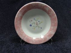 "Johnson Brothers Summer Chintz Pink Rimmed Soup Pasta Bowl 10"" - Perfect & Rare! #JohnsonBros"