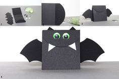 halloween bat halloween treat bag #