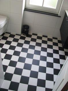 Zwart wit tegels