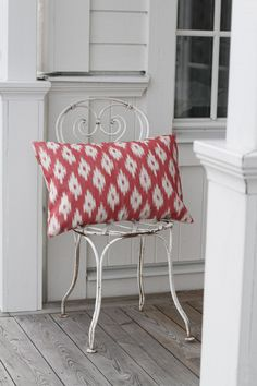 Kuddfodral Ikat Cors Red