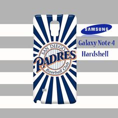 San Diego Padres Samsung Galaxy Note 4 Case Cover