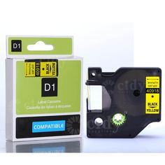 """Promo offer US $63.63  Cidy 20pcs/lot high-quality d1 40918 3/8""""x23' Black on Yellow for dymo label maker  #Cidy #pcslot #highquality #Black #Yellow #dymo #label #maker  #BlackFriday"""