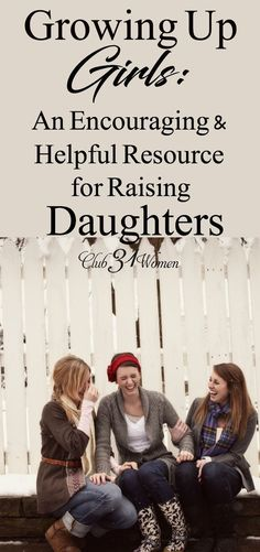 Got girls? Here's an encouraging and helpful resource for raising daughters! Shared from the heart of a mom with four girls herself. quotes Growing Up Girls: An Encouraging and Helpful Resource for Raising Daughters Gentle Parenting, Parenting Teens, Parenting Quotes, Parenting Advice, Funny Parenting, Parenting Classes, Mommy Quotes, Funny Girl Quotes, Daughter Quotes