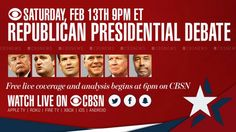 How to Stream Tonight's CBS Republican Debate Online, No Cable Required -   The debate mill churns, and having churned moves on. There's yet another GOP Presidential debate tonight. Here's how to stream it without cable. Read more…  Lifehacker All about DIY #DIY #DoItyourself #homeworking #makers  | http://wp.me/p5qhzU-cnA | #DIY #DoItYourself