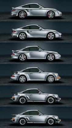 Porsche 911 Turbo Generations | Flickr - Photo Sharing!