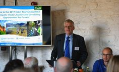 Jim Walker opening the 2017 Eden Tourism Summit