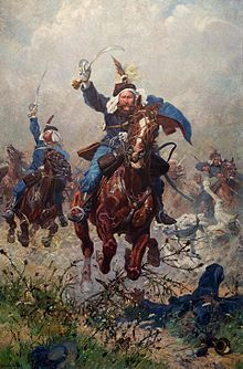 Koch, Ludwig Col Rodakowski- Lancers- Battle of Custoza- June, 1866 Beauty And The Best, In His Time, Imperial Army, Austro Hungarian, Military Art, Wonders Of The World, Austria, Equestrian, Oil On Canvas