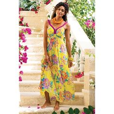 Tropical Garden Dress from Soft Surroundings on Catalog Spree