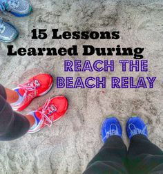 Running a relay race is more than running. It makes a solo sport like running into a team sport. Lessons from Reach the Beach Relay