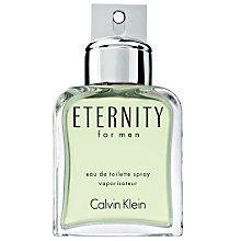 Calvin Klein Eternity for Men, Eau de Toilette Spray Online at johnlewis.com