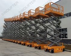 14m electric scissor lift is widely used for maintenance and construction application. (http://sinolifter.com/self-propelled-scissor-lift/14m-electric-scissor-man-lift.html)