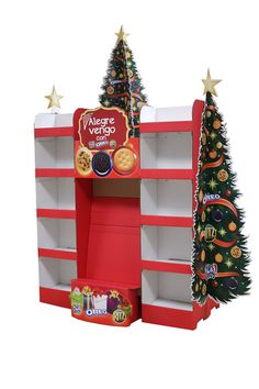 Aisle displays are ideal for impulse holiday purchases of all sizes.  See samples of our work on our website.  (Corrugated Displays, POP Displays, Custom Displays)